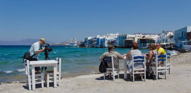The Island of Mykonos