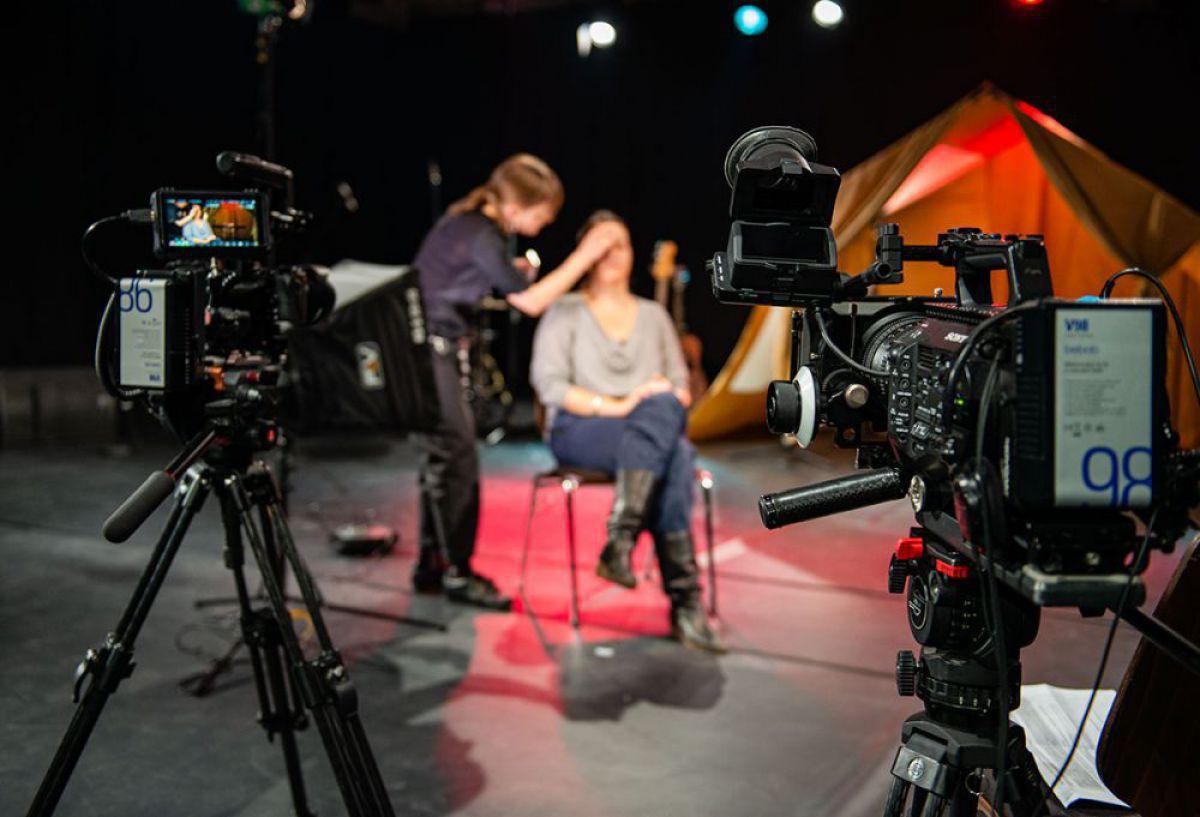 Camera teams and Cameraman in Berlin