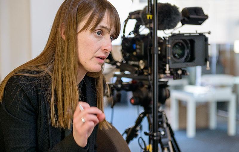 Medientrainerin Stephanie Drescher