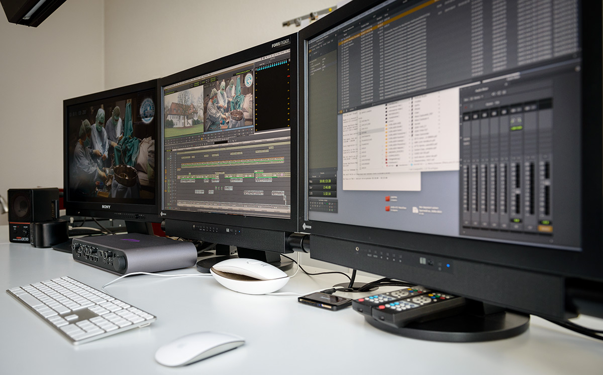 AVID editing suite in Berlin Schoeneberg