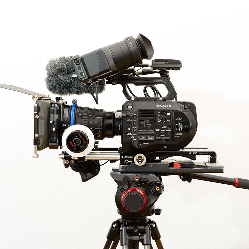 video equipment Sony PXW FS7 Super 35 Camcoder