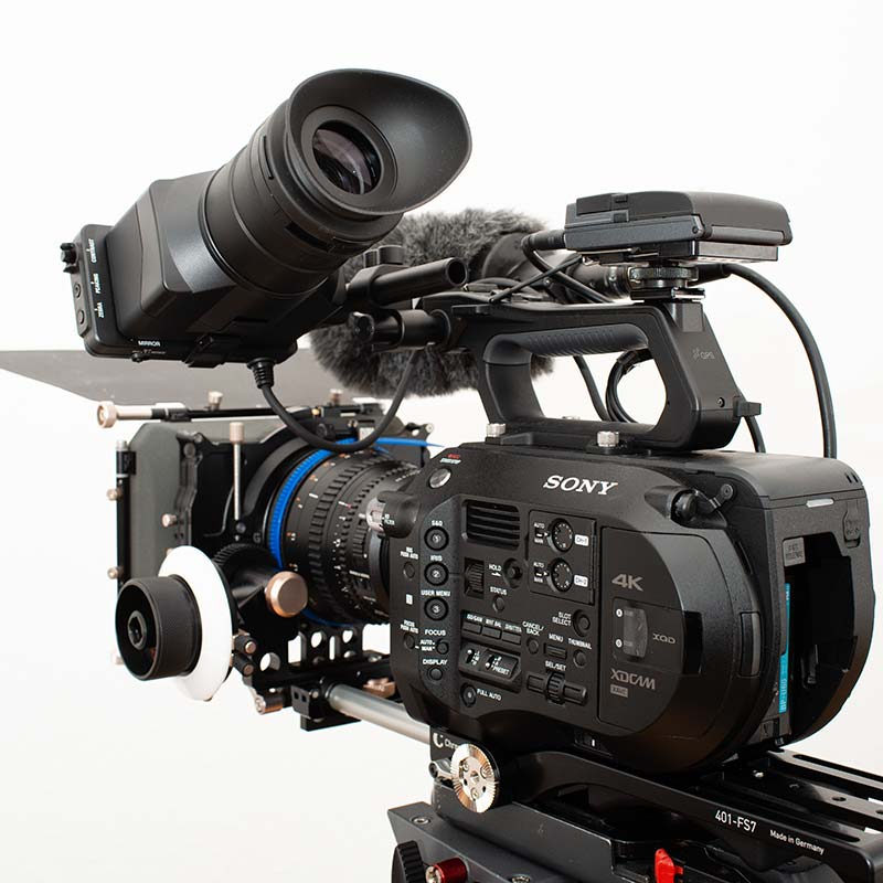 camera equipment Sony PXW FS7 Video camcorder
